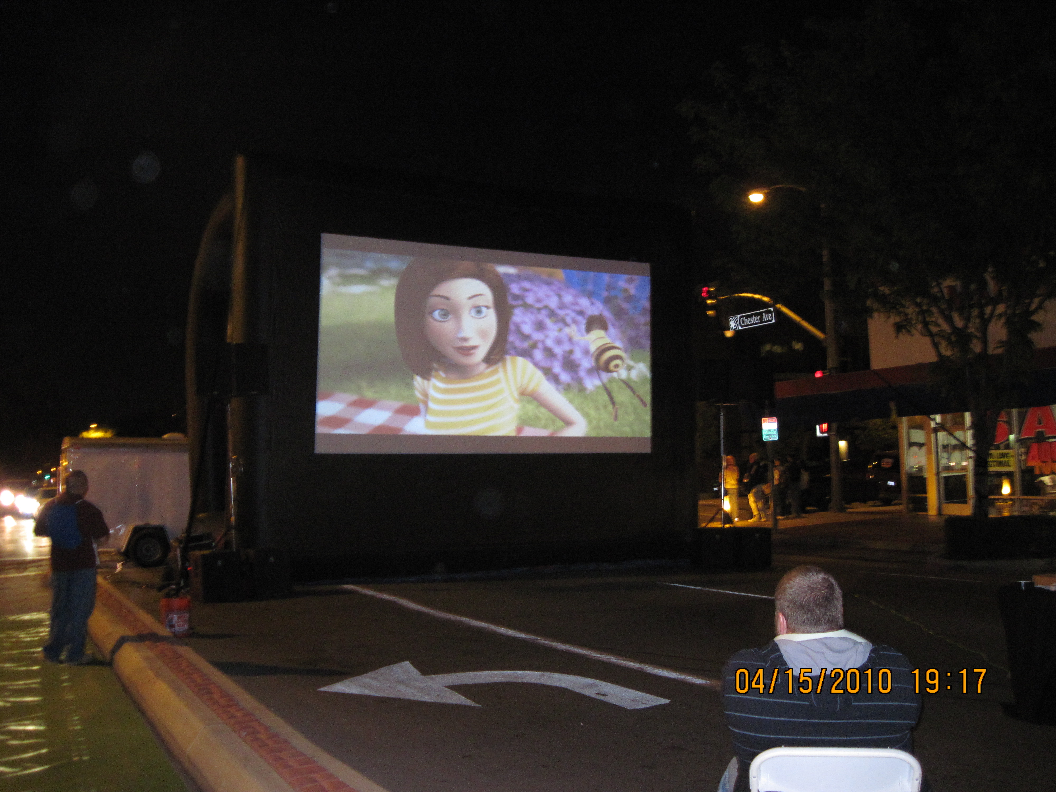 Movies Under The Stars Pic 1