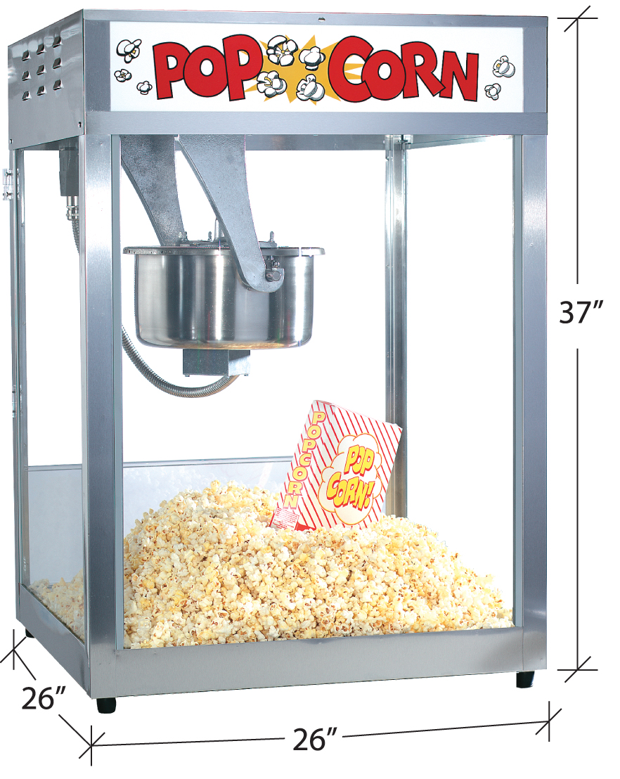 professional popcorn machine jumpin jollies. Black Bedroom Furniture Sets. Home Design Ideas
